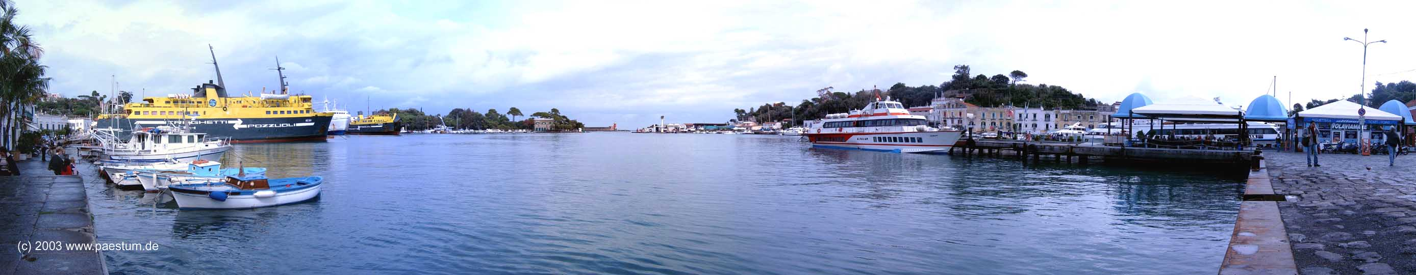 Panorama Ischia Porto - Hafen